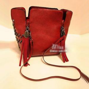 Дамска чанта Leah Red