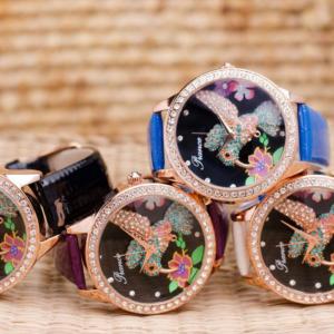 Часовник Prance Hummingbird Естествена кожа