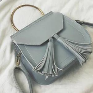 Малка дамска чанта Willow Grey