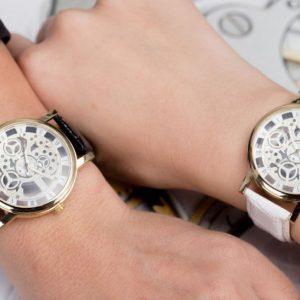 Часовник Pollock Silver & White