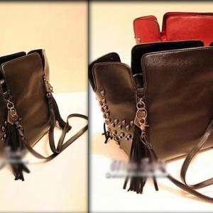 Дамска чанта Leah Black