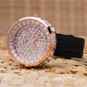 Часовник Prance Crystals Естествена кожа