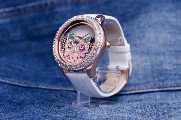 Часовник Prance Owl Естествена кожа