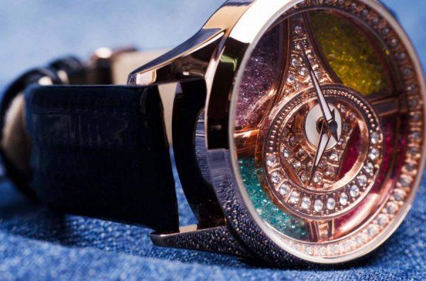 Часовник Prance Colors Естествена кожа
