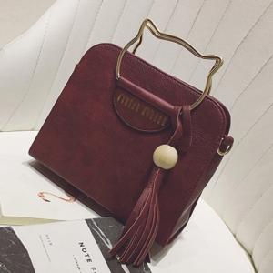 Малка чантичка Vela Wine Red
