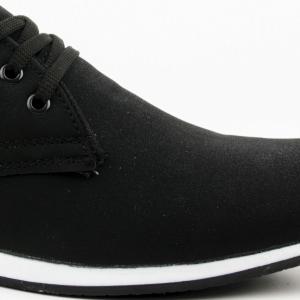 Мъжки обувки CLS Stylish Black набук