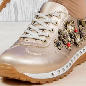 Обувки Valentin Gold