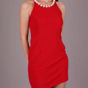 Вечерна рокля в Червено