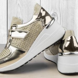 Дамски обувки Disco Gold