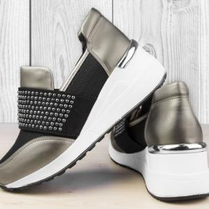 Дамски обувки Lin Silver