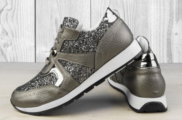 Дамски обувки Grey Disco Ball
