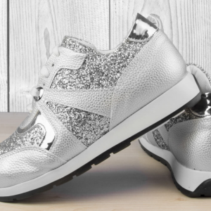 Дамски обувки Silver Disco Ball