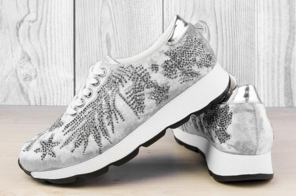 Дамски обувки Grey Plush