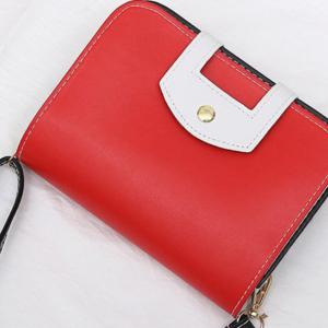 Малка дамска чанта Glady Red