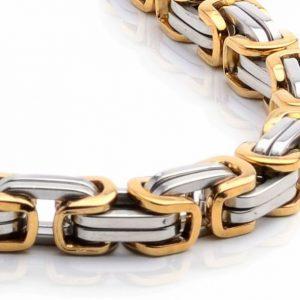 Ланец Zeus Silver-Gold