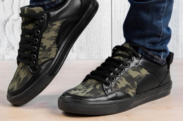 Мъжки кецове Jason Black & Camouflage