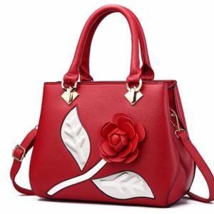 Чанта 3D Rose Red