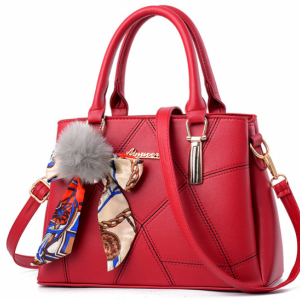 Дамска чанта Aimioer Red