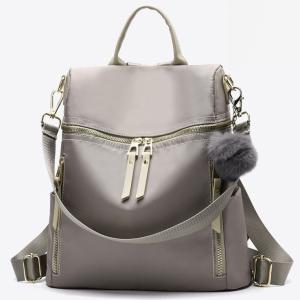 Дамска чанта - раница+пухче Harper Khaki