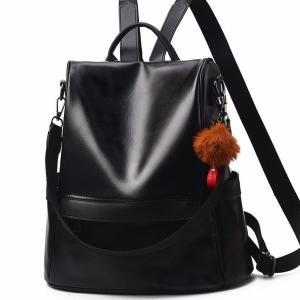 Дамска чанта - раница Shelby Black